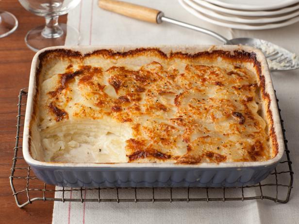 scalloped potato gratin photo